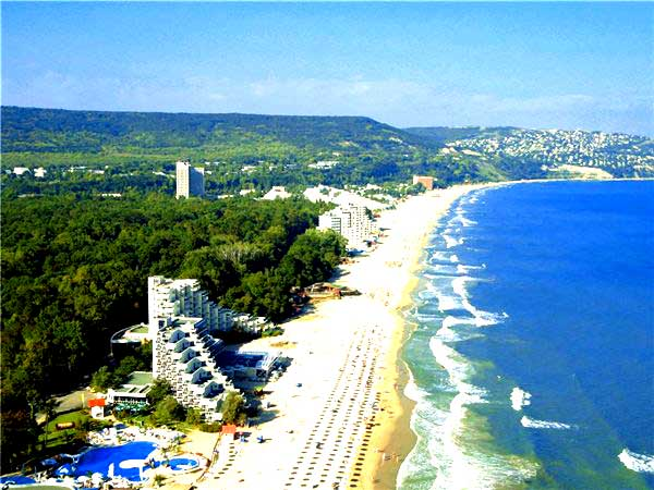 Курорты Болгарии, Варна, Бургас